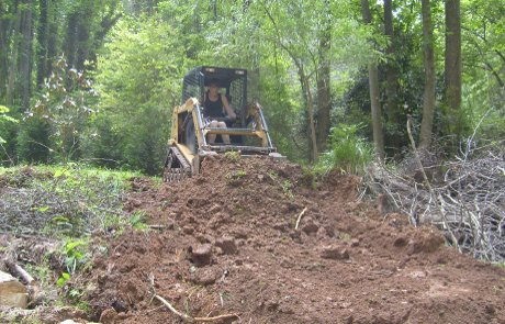 Lot clearing, trees, brush, kudzu, wisteria, trash, site, agricultural, residental, construction